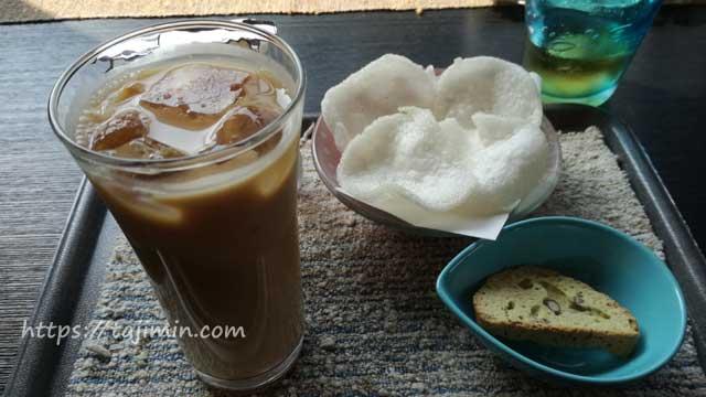 CAFE SHINOのアイスマサラチャイ