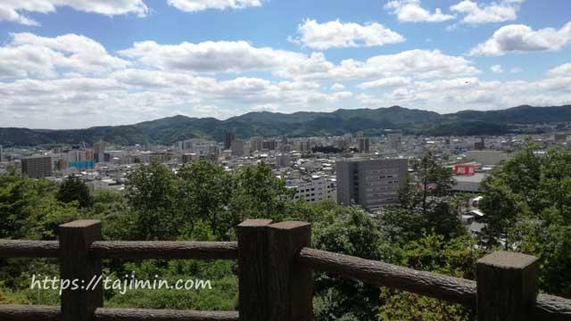 虎渓公園からの展望