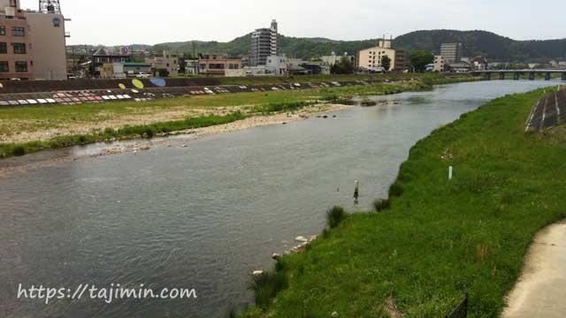多治見橋から見る土岐川