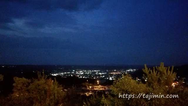 土岐プレミアム・アウトレットからの夜景