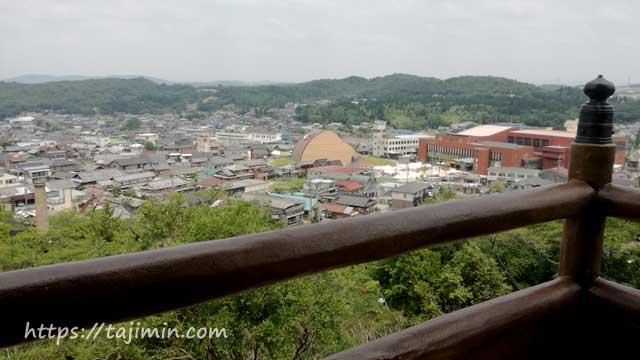 陶ヶ丘公園展望台からの眺め