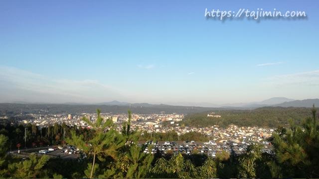 土岐プレミアムアウトレットから見る景色