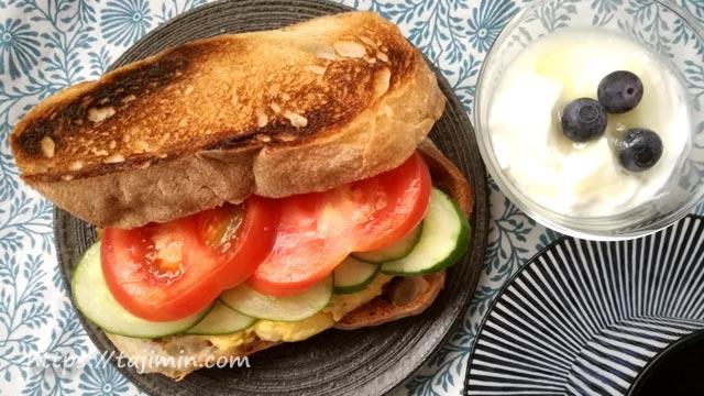 兎風亭のパンで家カフェ