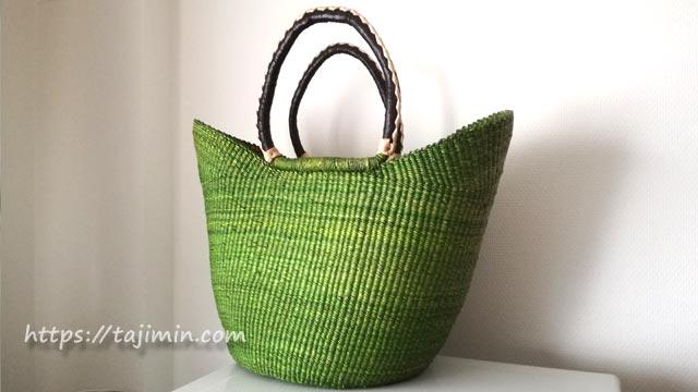 NPO法人 HIROYA基金のガーナの編み籠