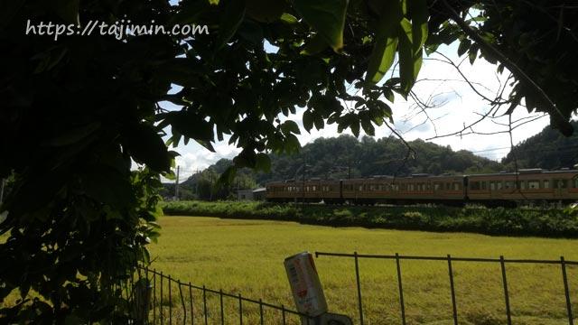 田園風景とJR