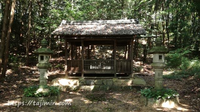 【No.55】虎渓山と東栄町の田園コースの神明治神社