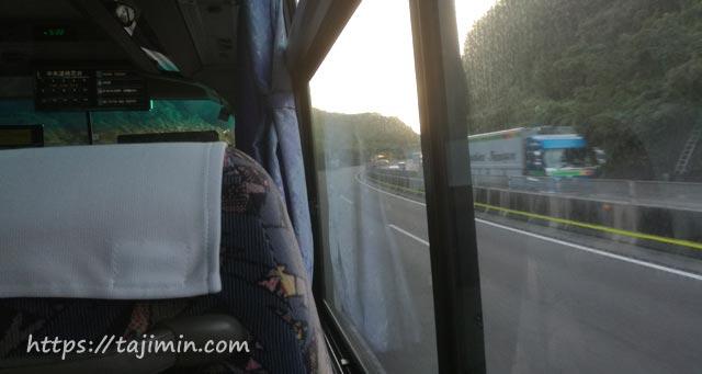 名古屋行きの都市間高速バス