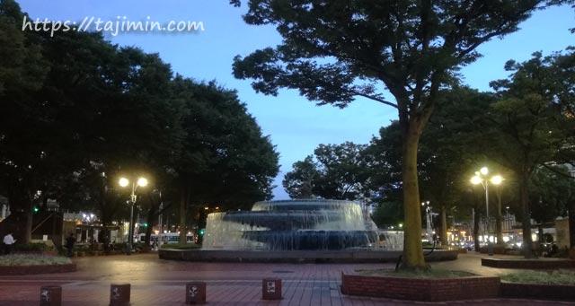 栄、栄の久屋大通公園の噴水前