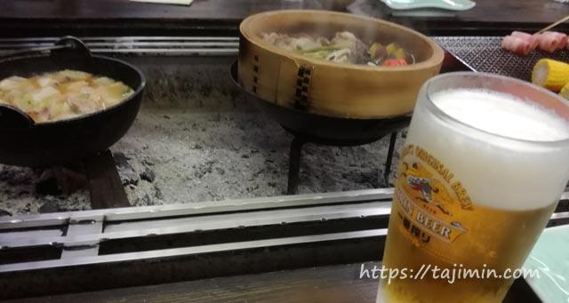 うるぎ温泉郷 湯本 森の宿 遊星館の夕食