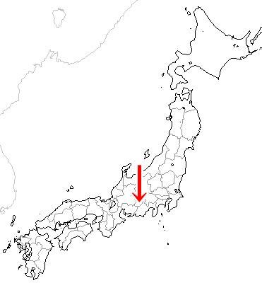 長野県下伊那郡売木村map