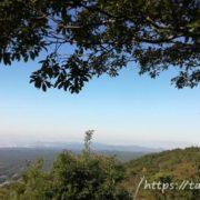 弥勒山山頂からの景色