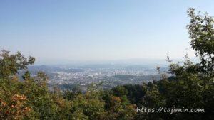 高社山の反射板からの景色