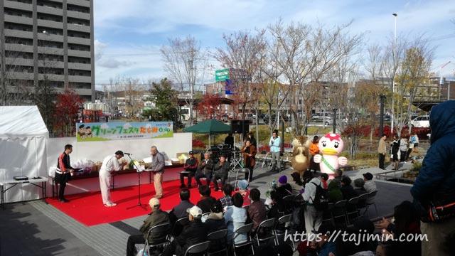 虎渓用水広場でグリーンフェスタたじみ2017