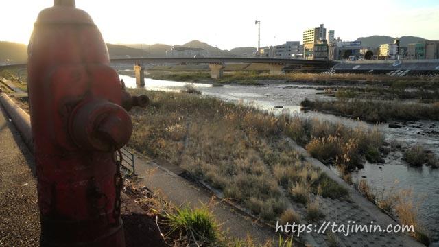 昭和橋から見る土岐川