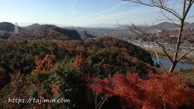 愛知県犬山市 寂光院からの眺め
