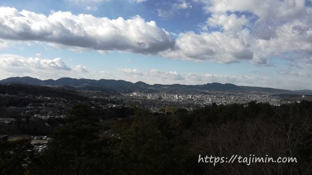 セラミックパークMINO展望台からの眺め
