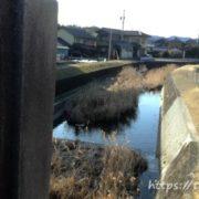 市之倉川の御犬様橋