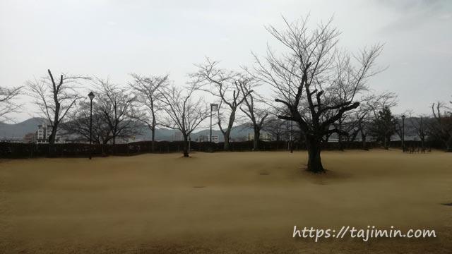 名鉄犬山ホテル、ガーデンレストラン「ライン」からの眺め