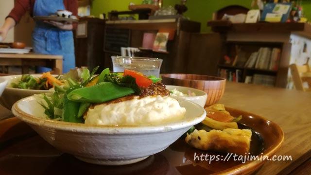 カフェ温土のランチ