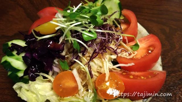 食事処 あじ善の野菜サラダ