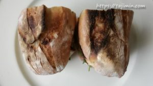 オリーブ・リュスティックで作った餃子・サンドイッチ
