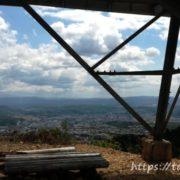 高社山の反射板からの眺め