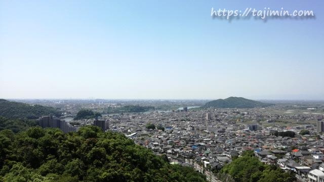 日本ライン うぬまの森からの眺め