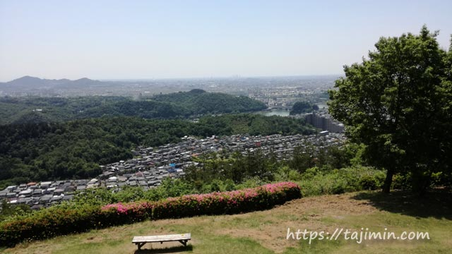 日本ライン うぬまの森展望台からの眺め
