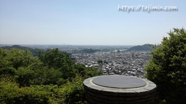 日本ライン うぬまの森見晴台からの眺め