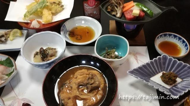 坂巻温泉旅館夕食