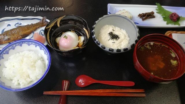 坂巻温泉旅館朝食