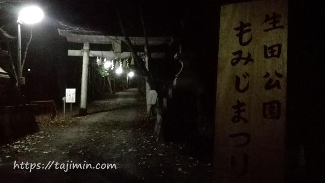 生田公園もみじまつり