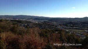 根本・高根山展望台からの眺め