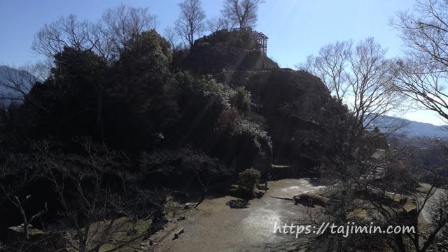 苗木城跡(中津川市)