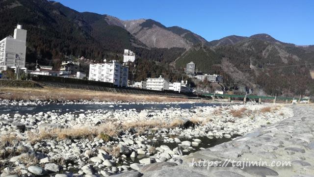 下呂温泉の飛騨川