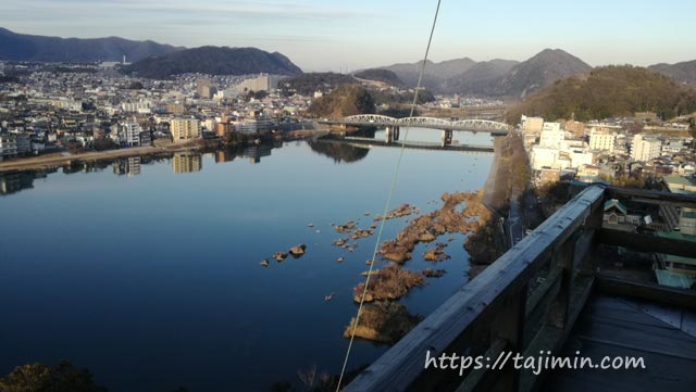 国宝犬山城からの眺め