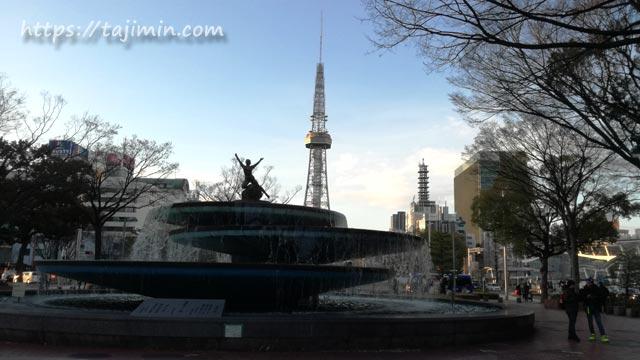 久屋大通り公園の噴水