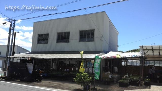 坂崎種苗(株)池田店の外観