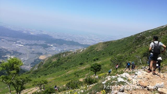 5月の伊吹山登山