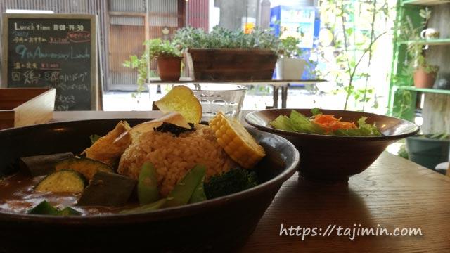 カフェ温土のカレー