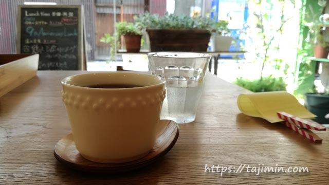 カフェ温土のチコリ茶