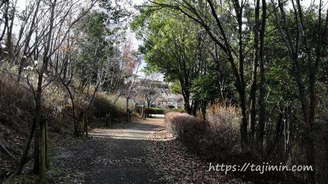 滝呂北公園遊歩道