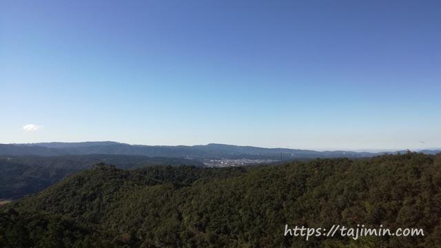 カフェー清涯荘からの景色