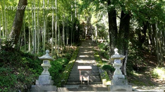 大湫宿(瑞浪市)、白山神社