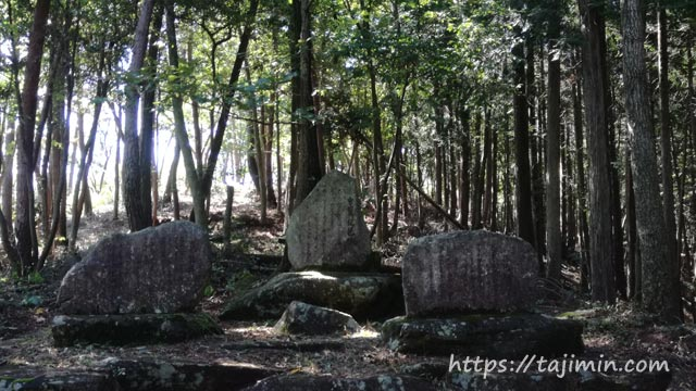 琵琶峠の石畳(瑞浪市)