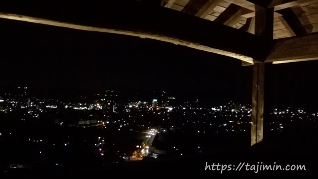 高山城跡からの眺め