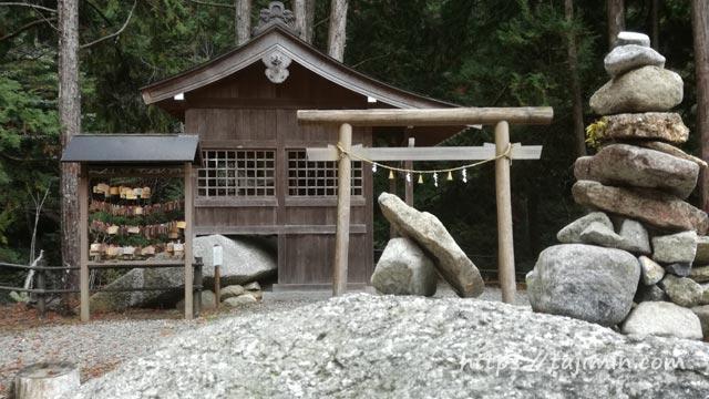 夕森公園の竜神神社