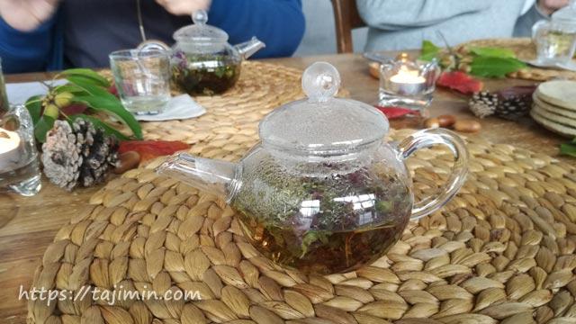 晩秋の茶会