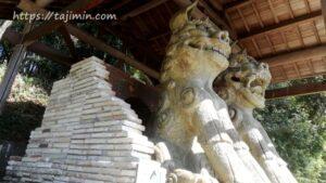 世界一大きい狛犬