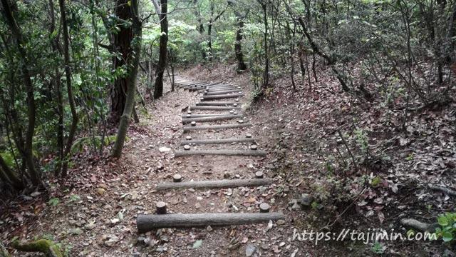 高根山登山道